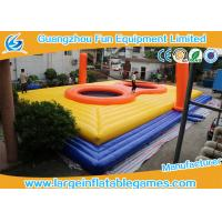 Wholesale 0.55MM PVC Inflatable Football Pitch Bossaball Court Inflatable HolleyBall Playground from china suppliers