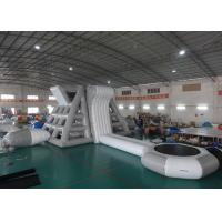 Wholesale Amercian Customized Water Park Combo Inflatable , Inflatable Big Slide Park from china suppliers