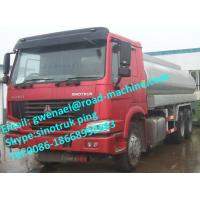 Wholesale Sinotruk Oil Tanker Truck , Liquid Tanker Truck 6x4 25000 L 380HP EUROII / EURO III from china suppliers