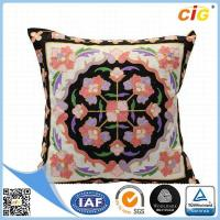 Wholesale Faux Fur / Polyester Multi Color Square Decorative Throw Pillow Covers for Couch / Bed / Sofa from china suppliers
