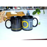Quality Fashion Ceramic Printed Magic Coffee Mug , Color Changing Heat Sensitive Mug Custom for sale