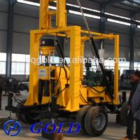 Wholesale 200-300m Trailer Mounted Hydraulic Small Well Drilling Machine from china suppliers