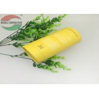 Buy cheap Yellow Cardboard Cylinder Paper Tube Packaging For Honey Bottle Anti-rust from wholesalers