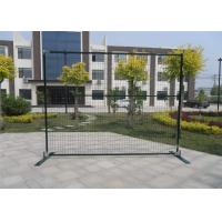 """Wholesale outer frame1""""/25mm*1.5mm wall thick 6ft height x 9.6ft width spacing 2""""x4'x11ga polyester coated green from china suppliers"""