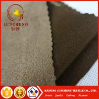 Wholesale Garment home textile knitted faux 100% polyester micro suede fabric from china suppliers
