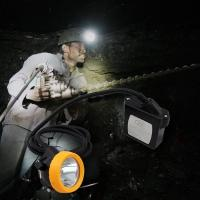 Buy cheap Rechargeable cree underground Mining Hard Hat LED Lights ATEX approved from wholesalers
