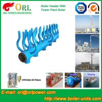 Wholesale High Temperature Boiler Header Manifolds with Boiler Manifold Piping from china suppliers