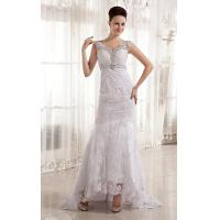 Wholesale Beaded Deep V Neck A Line Romantic Lace Wedding Gowns for Young Girls from china suppliers