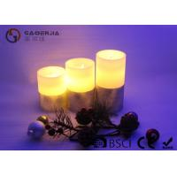 Wholesale Flat Top Pillar Battery Operated Candles With Flickering Flame from china suppliers