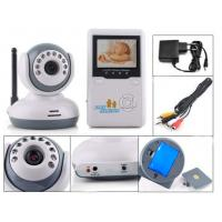Wholesale Portable CCTV Wifi Baby Monitor Camera LCD Monitoring System , Voice Clear from china suppliers