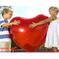 Wholesale 75cm Large aluminum Inflatable Foil balloons lovers heart balloon gift Helium Balloon from china suppliers