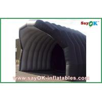Quality Inflatable Air Tight Tent Building Black Large Inflatable Tent House For Camping for sale