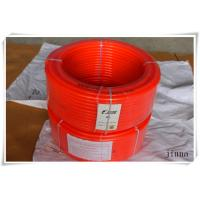 Quality 8mm diameter  orange color PU Transmission Polyurethane Round Belting for sale
