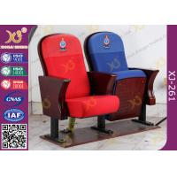 Wholesale Fire Retardant Vintage Wooden Theater Seating Chairs For Church Project from china suppliers