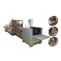 Wholesale 12kw 50HZ 3 Phase 4 Wire Multilayer Kraft Paper Sack Machine / Cement Bag Making Machine from china suppliers