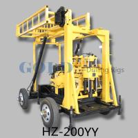 Wholesale Hydraulic core sample drilling rig HZ-200YY from china suppliers