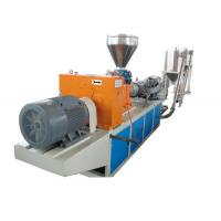 Wholesale Automation PE PP ABS Plastic Pelletizing Line , PVC Twin-Screw Extruder from china suppliers