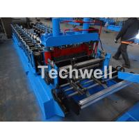 Buy cheap 0.8-1.5mm Thickness Cold Roll Forming Machine For Making Traverse Machine With Motor 11KW from wholesalers