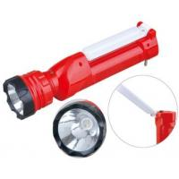 Wholesale 2W LED Rechargeable Torch Rechargeable Tactical Flashlight With Lamp from china suppliers