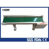 Wholesale High Stability Rubber Conveyor Belt , Motor Industrial Green PVC Belt Conveyor from china suppliers