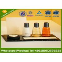 Wholesale hotel amenities sets, guest amenities, hotel amenity supplier ,hotel amenities supplier with  ISO22716 GMPC from china suppliers