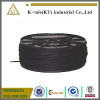 Wholesale Wholesale black steel wire rope 7x19 aircraft cable for stage from china suppliers