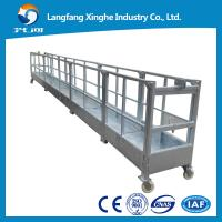 Wholesale 630kg/800kg suspended working platform / window cleaning equipment / suspended cradle / gondola platform from china suppliers