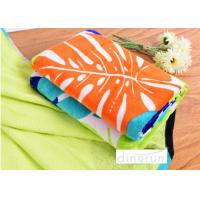 Wholesale Big Plain Style Velour Luxury Cool Beach Towels 100*180cm Extra Absorbent from china suppliers