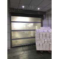 Buy cheap Wind Resistance Industrial Automatic High Speed Door 1.2mm PVC Curtain Thickness from wholesalers