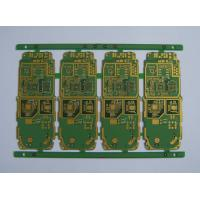 Wholesale Immersion Silver yellow Solder mask 5 mil 10 layers Halogen Free Rogers Flex Rigid pcb from china suppliers