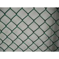Wholesale High Strength Green chain link wire fencing metal decorative wire mesh from china suppliers