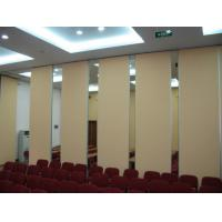 Wholesale Good Sound Insulation Office Sliding Partition Walls , Aluminium Frame Movable Room Dividers from china suppliers