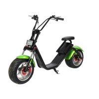 Wholesale Double Seat 60v Electric Harley Scooter , 1200w Adults Electric Citycoco Scooter from china suppliers