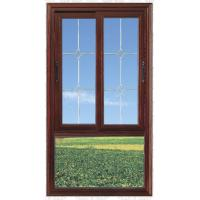 Wholesale Glass grill design aluminum double panels casement window from china suppliers