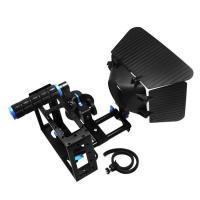 Wholesale Camera Cage +Top Handle+15mm Aluminum Rod Block Plate+Follow Focus+Matte Box from china suppliers