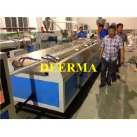 Wholesale Plastic PVC Profile Extruder Production Line For Three Rails Sliding Window from china suppliers