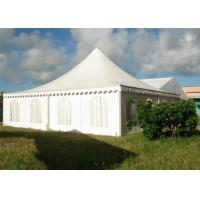 Wholesale Large Luxury High Peak Tents , White Outdoor Canopy Tent  For Events / Parties from china suppliers