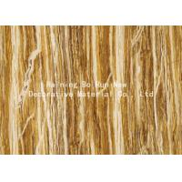 Wholesale Woods Foil Wallpaper Feeling Wood Grain Film from china suppliers