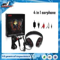 Wholesale For PS4/ X360 /PS3/ PC 4 in1 earphone from china suppliers