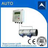 Wholesale Output 4-20mA Non-invasive Water Ultrasonic Flow Meter/Insertion Water Flowmeter from china suppliers