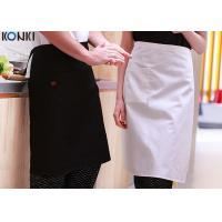 Wholesale Custom Cooking Aprons For Women With Pockets , Cotton Twill Fabric Aprons Cute Womens Aprons from china suppliers