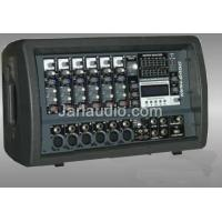 Wholesale Plastic Cabine Audio Powered Mixer With Amplifier , 6 - 8 Channels from china suppliers