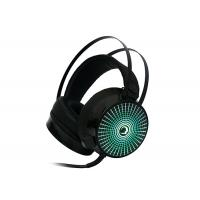 Wholesale Illuminated 7.1 Surround Sound Headphones With Mic For Pc , Black from china suppliers