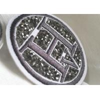 Wholesale Creative 3D Rubber Logo Patches , Washable Fabric PVC Clothing Labels from china suppliers