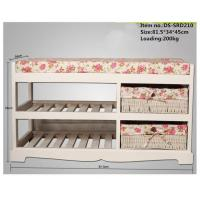 Buy cheap Wooden White Shabby Chic Vintage Shoe Rack from wholesalers