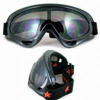 Wholesale Motorcycle Goggles with UV400 Protection, TPU Frame and Polycarbonate Lens from china suppliers