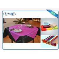 Wholesale Slices / Rolls Packed Non Woven Polypropylene Tablecloth for Catering Business from china suppliers