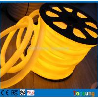 Wholesale 25M spool 12V yellow round 360 degree led neon flex for room from china suppliers