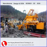 Wholesale js twin shaft concrete mixer pump from china suppliers