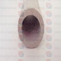 Wholesale Porous metal sintered porous metal film filter stainless steel filter aeration filter from china suppliers